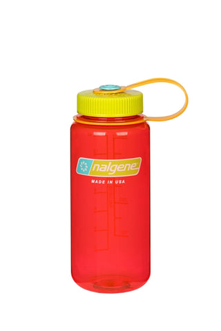 Nalgene 500ml Wide Mouth Pomegranate