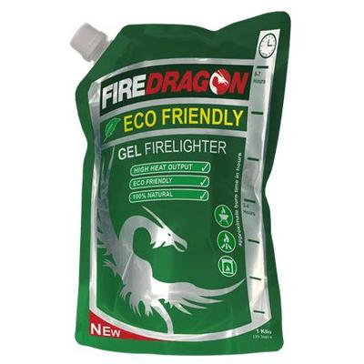 Bushcraft Fire Dragon Gel Fuel Pouch 630ml