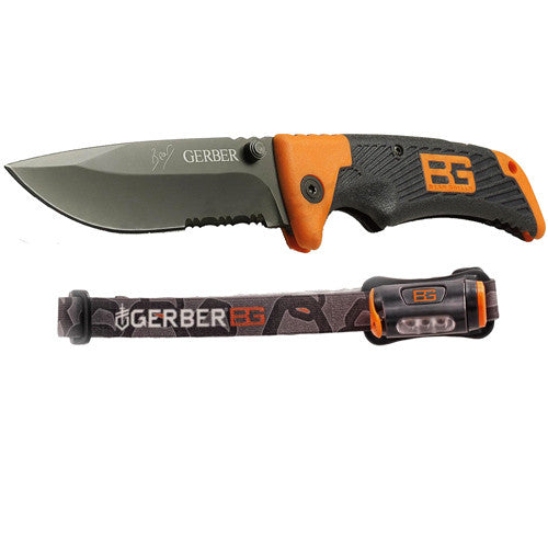 Gerber BG Scout w Headlamp - Nalno.com Outdoor Equipment