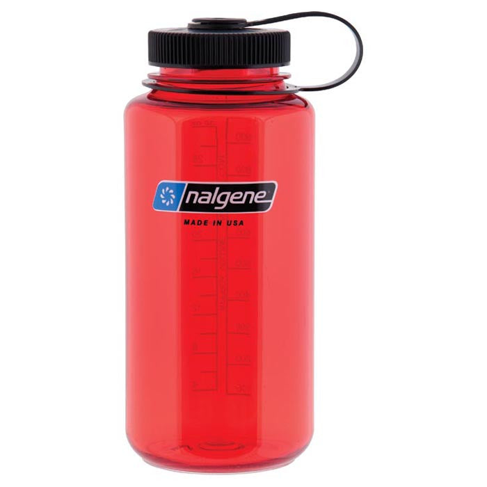 Nalgene Wide Mouth Lollipop Red - Nalno.com Outdoor Equipment