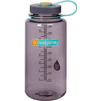 Nalgene 1l  Wide Mouth Aubergine Water Bottle