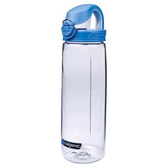 Nalgene OTF Clear w Blue Cap 700ml