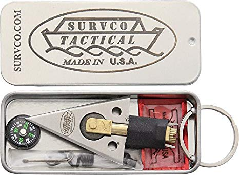 Survco M4 Trailblazer Survival Tin