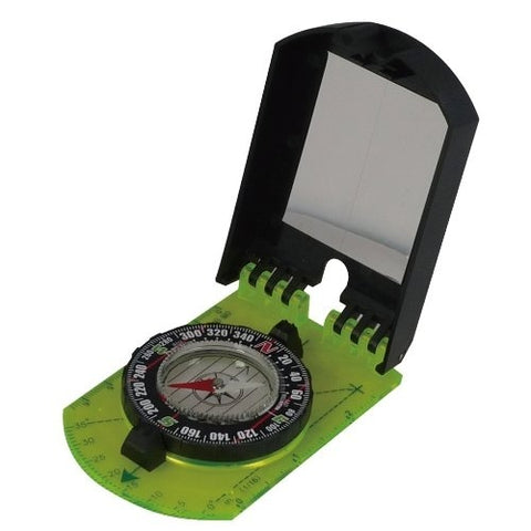 AceCamp Folding Map Compass w Mirror