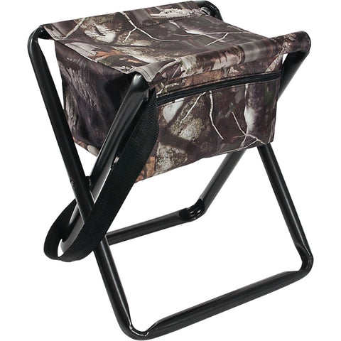 Allen Camo Folding Stool w Back Rest