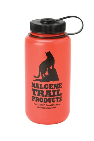 Nalgene HDPE 1l Red Wide Mouth