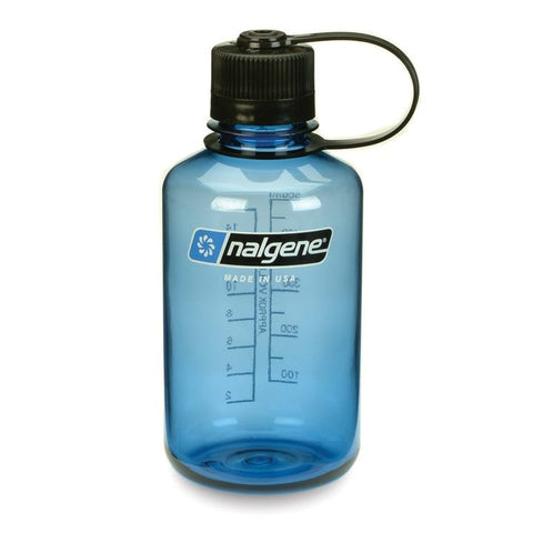 Nalgene 500ml Narrow Mouth Slate Blue Water Bottle
