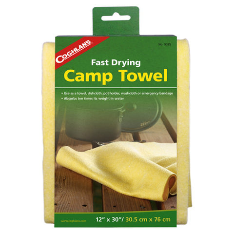 Coghlans Camp Towel - Nalno.com Outdoor Equipment