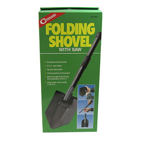Coghlans Folding Shovel w Saw - Nalno.com Outdoor Equipment