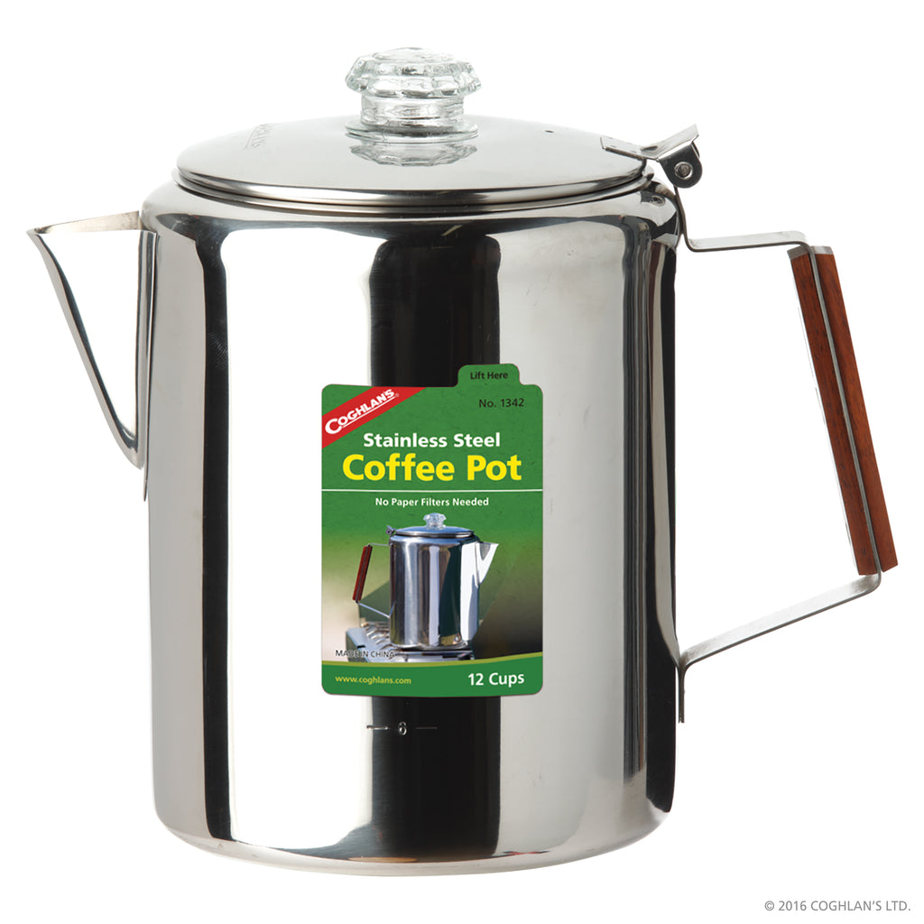 Coghlan's Stainless Steel Coffee Pot - 12 Cup