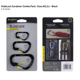 Nite Ize SlideLock Carabiner Steel 3-pack