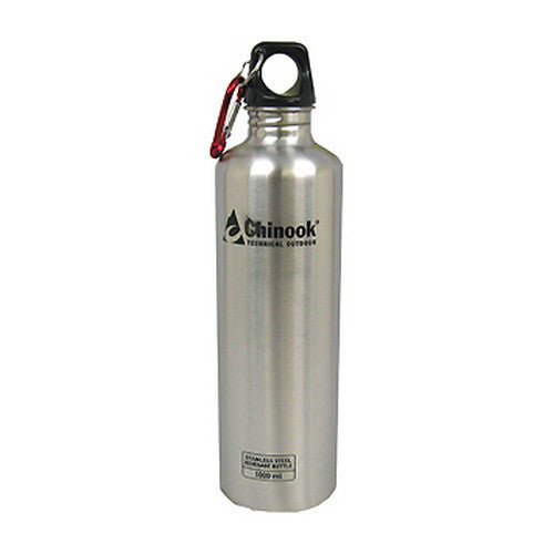 Chinook Stainless Water Bottle 1l - Nalno.com Outdoor Equipment
