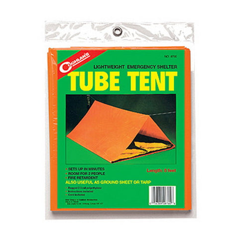Coghlans Emergency Tube Tent - Nalno.com Outdoor Equipment