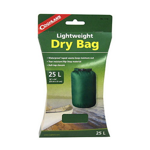 Coghlans Lightweight Dry Bag 25L - Nalno.com Outdoor Equipment