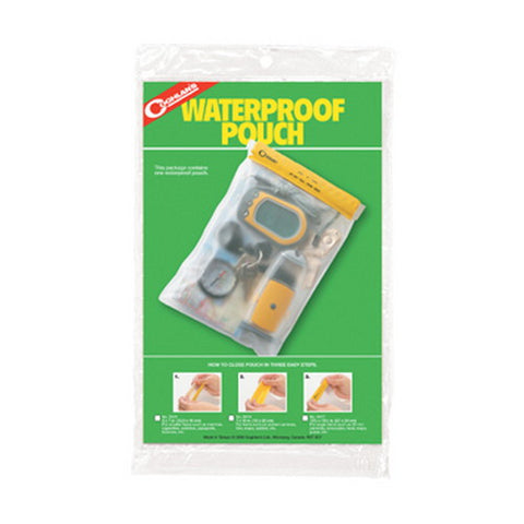 Coghlans Waterproof Pouch 12.5 x 18cm - Nalno.com Outdoor Equipment