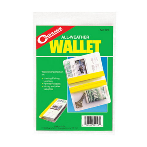 Coghlans Weatherproof Wallet - Nalno.com Outdoor Equipment