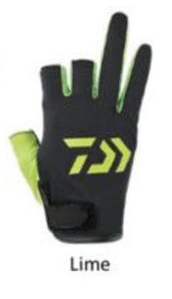 Daiwa 3-finger Fishing Gloves