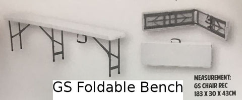 GS Foldable Bench
