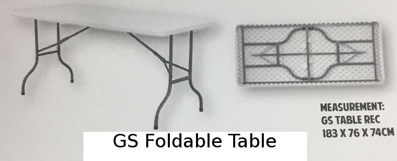 GS Foldable Table