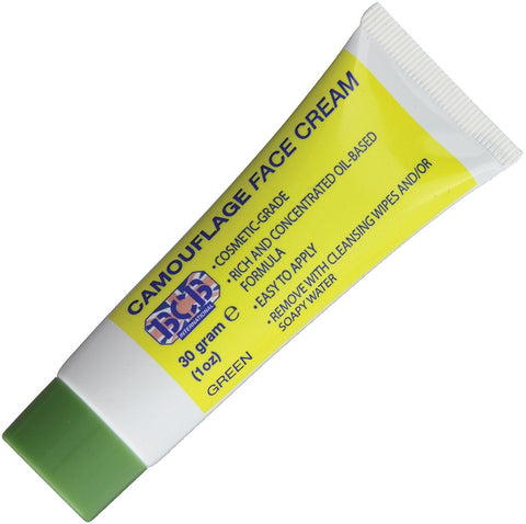 Bushcraft Camouflage Face Cream Green 30g
