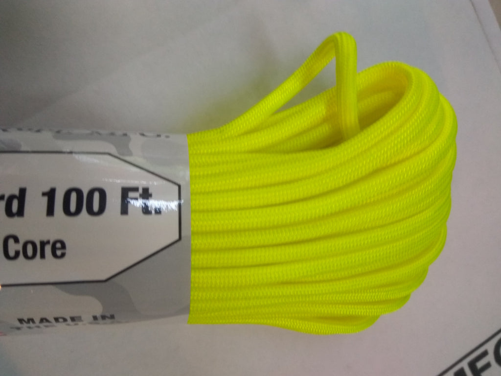 Neon Yellow Paracord