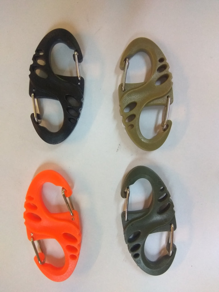 Plastic Double Gate Carabiner