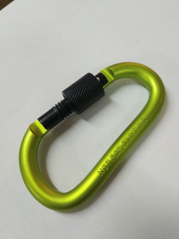 Carabiner with Screw Lock Gate