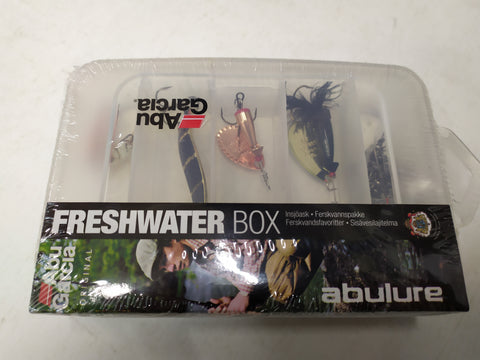 Abu Garcia Small Lure Boxes with Lures