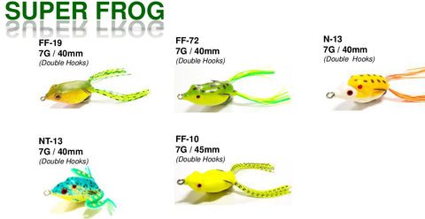 Kato Super Frog Semi-Soft Lure