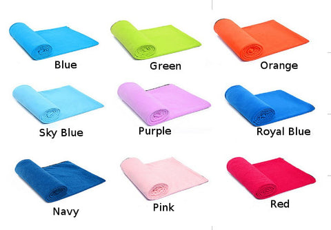 Microfiber Fleece Sleeping Bag