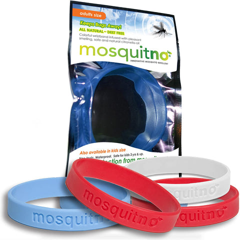 Mosquitno Mosquito Repellent Wristband Adult (assorted colours)
