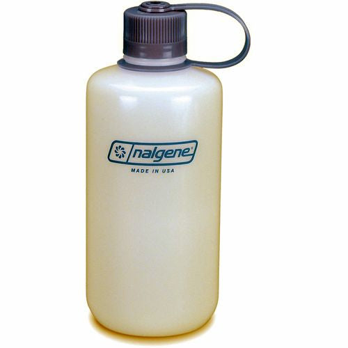 Nalgene HDPE 1l White Narrow Mouth