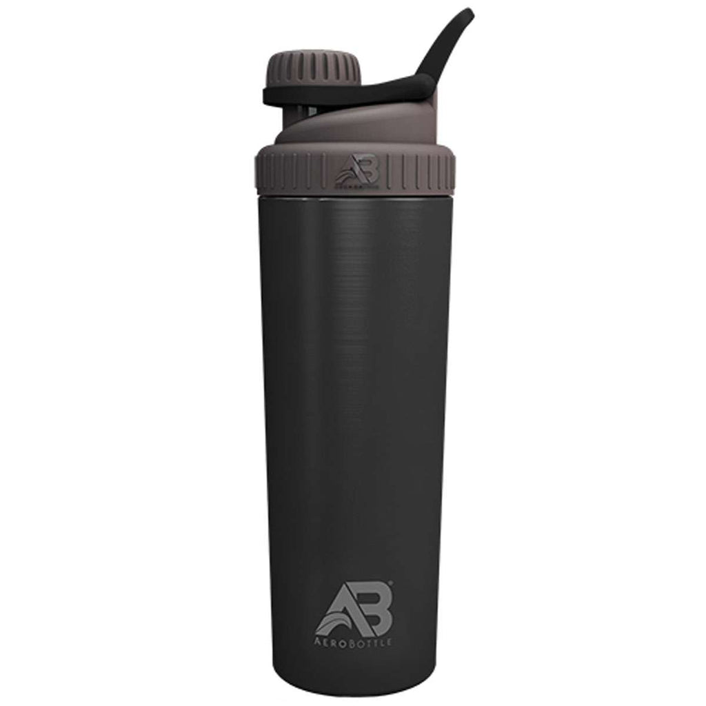 AeroBottle 1l Primus Steel Water Bottle/Protein Shaker Cup - Gym, Daily Use (Not Insulated)