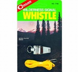 Coghlans Wilderness Signal Whistle - Nalno.com Outdoor Equipment