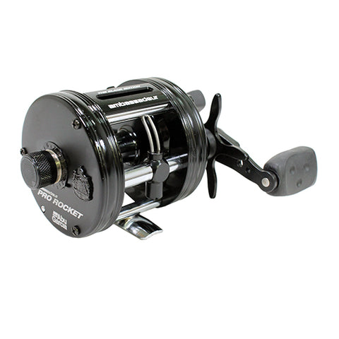 Abu Garcia Ambassadeur Black Edition 5500BE Pro Rocket Left