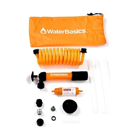 Aquamira WaterBasics RED Line Emergency Pump