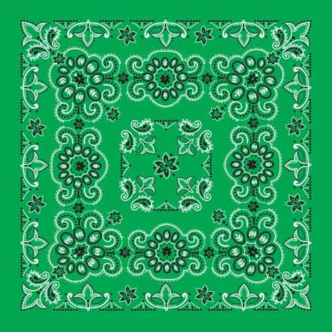 Carolina Mfg Texas Paisley Bandana - Nalno.com Outdoor Equipment - 1