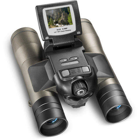 Barska 8x32 Point 'n View Binoculars with Camera Function