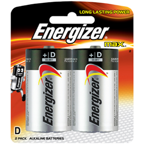 Energizer Max Batteries D