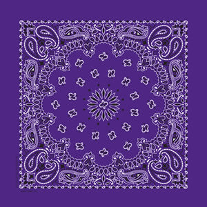 Carolina Mfg Traditional Paisley Bandana - Nalno.com Outdoor Equipment - 1