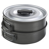 Chinook Ridge Hard Anodized Med Cookset - Nalno.com Outdoor Equipment - 3