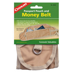 Coghlans Passport Pouch and Money Belt - Nalno.com Outdoor Equipment