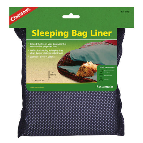 Coghlans Sleeping Bag Liner Rectangular - Nalno.com Outdoor Equipment