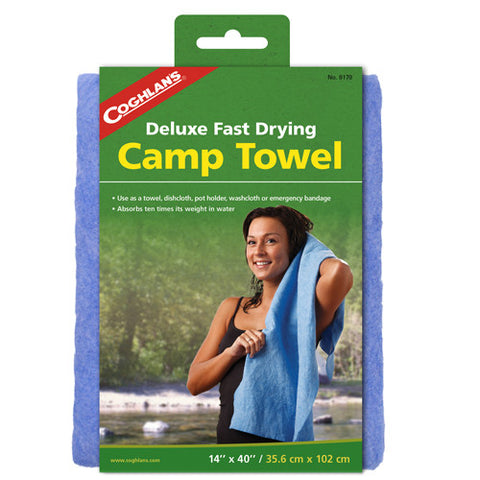 Coghlans Deluxe Camp Towel - Nalno.com Outdoor Equipment