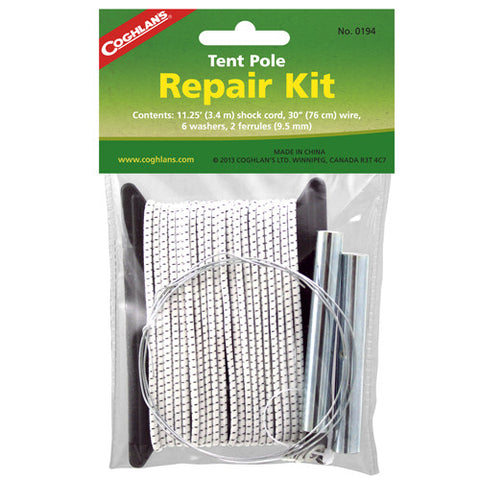 Coghlans Tent Pole Repair Kit - Nalno.com Outdoor Equipment