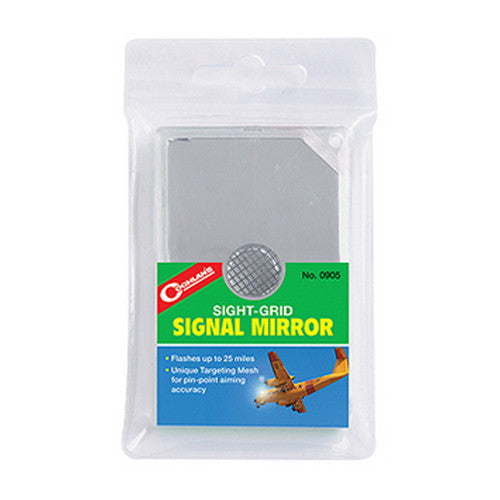 Coghlans Sight-Grid Signal Mirror - Nalno.com Outdoor Equipment