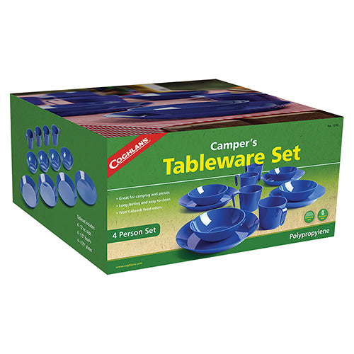 Coghlans 4 Person Camper's Tableware