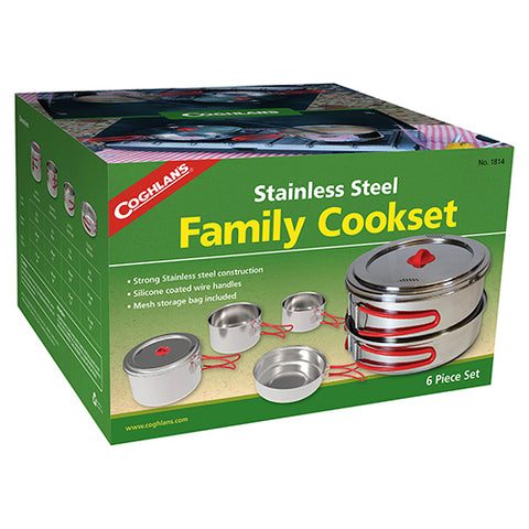 Coghlan's Steel Family Cookset