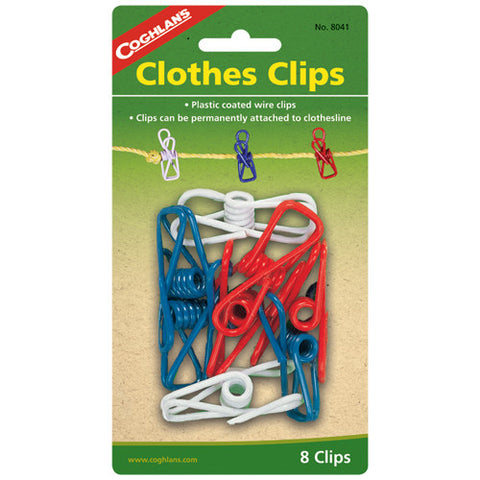 Coghlans Clothes Clips - Nalno.com Outdoor Equipment