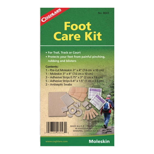 Coghlans Foot Care Kit - Nalno.com Outdoor Equipment